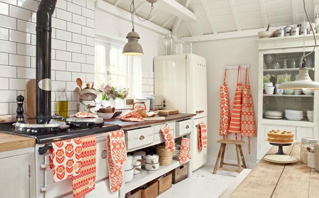 Текстиль для кухни дизайн фото