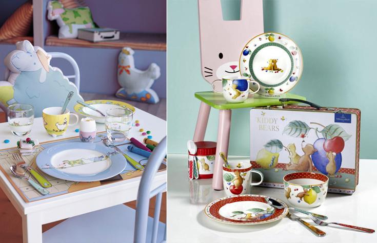 Детская посуда Kiddy от Villeroy and Boch