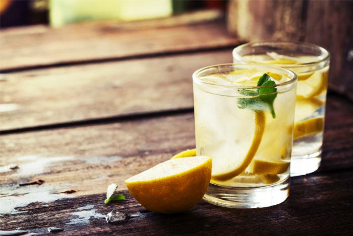 лимонная-вода-с-мятой
