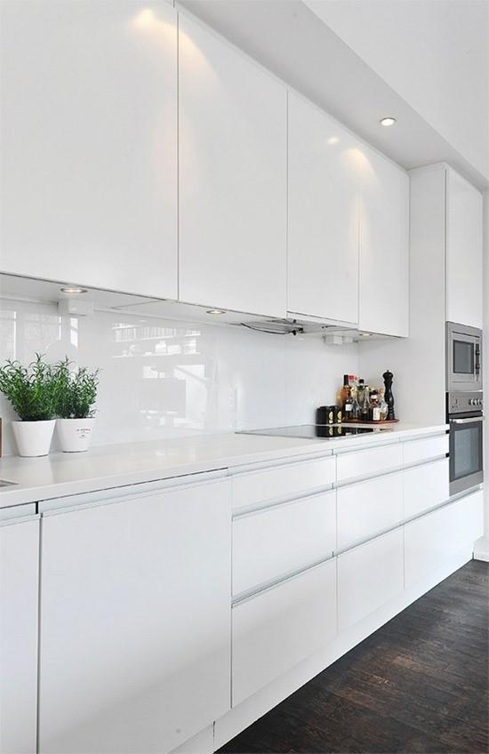 Кухня в белом цвете 3