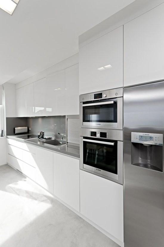 Кухня в белом цвете 4