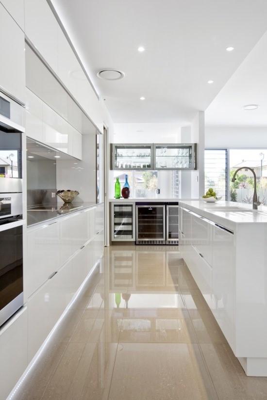 Кухня в белом цвете 6