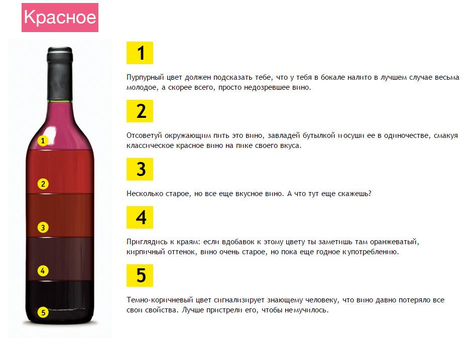 Домашнее вино как определить качество