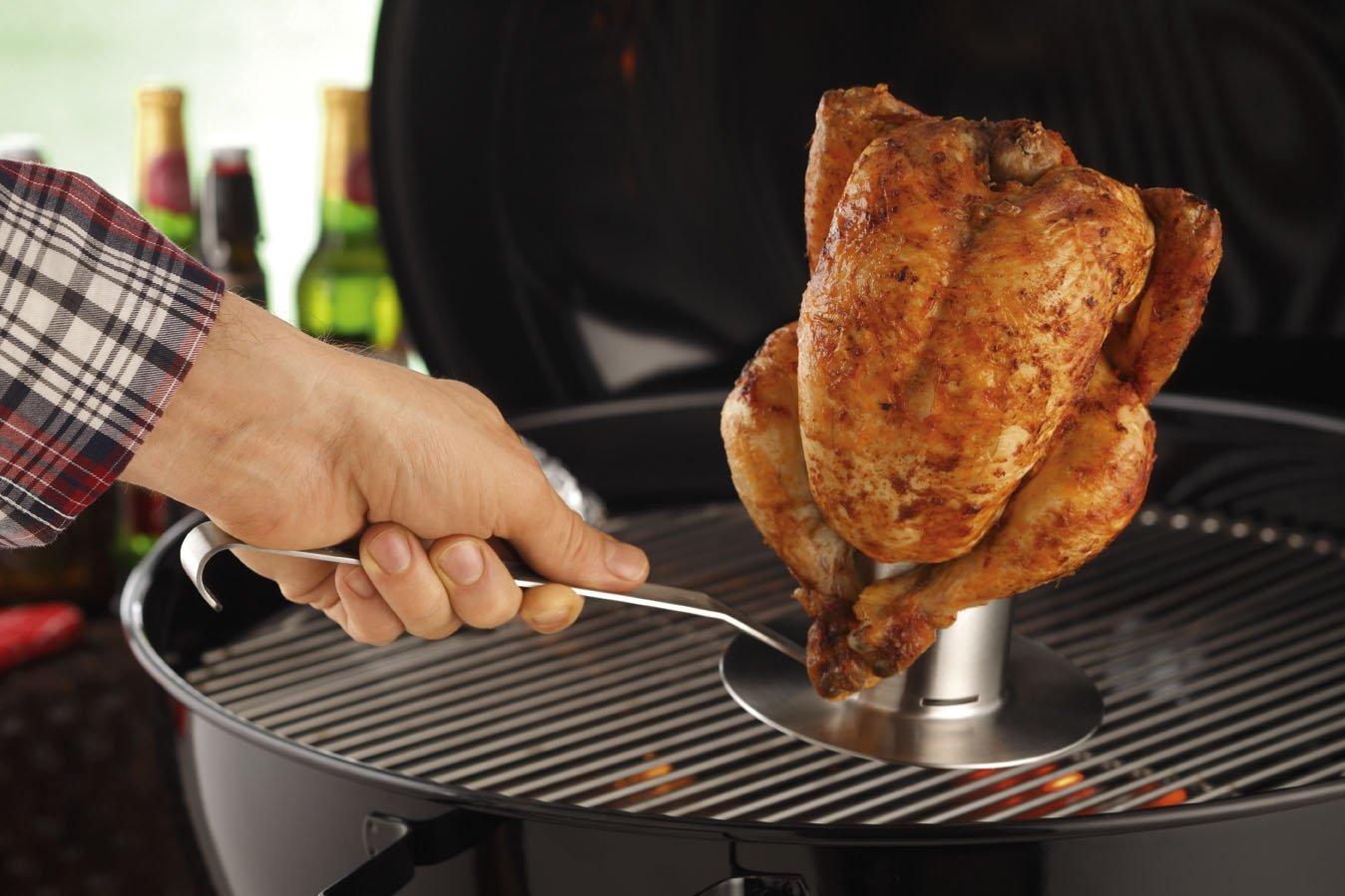 Приспособление для приготовления курицы на гриле Rosle